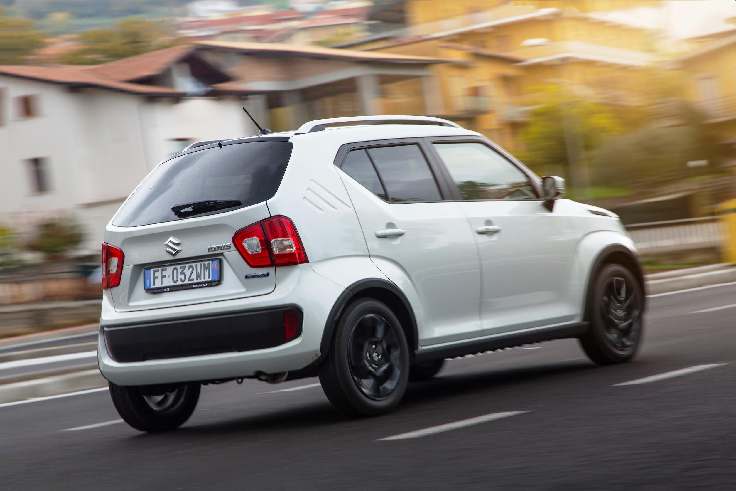 Vom A Segment Und Suzuki Von Micro Car Genauer Gesagt SUV Die Britischen Marketringstrategen Ultra Compact Gemeint Ist Der Ignis